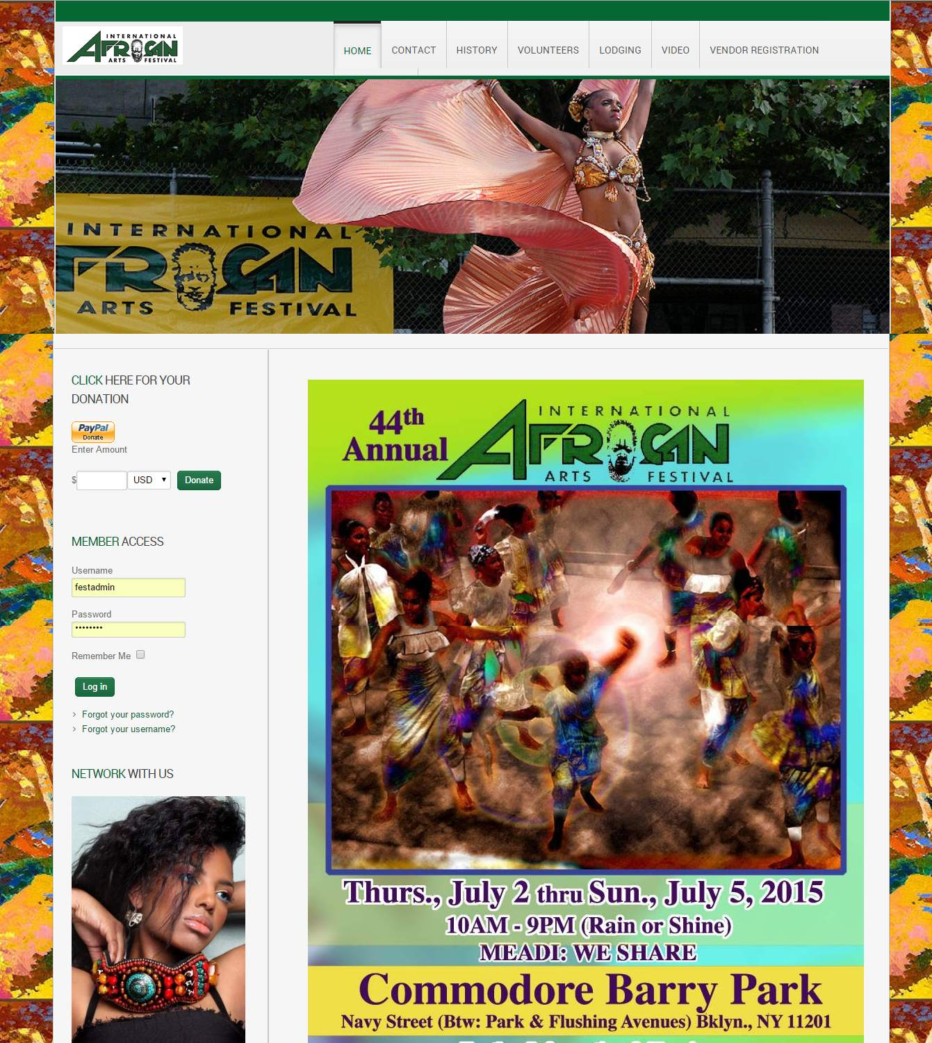International African Arts Festival